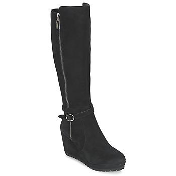 Čevlji  Ženske Mestni škornji    Moda In Pelle SITA Črna