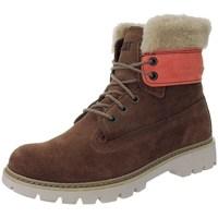 Čevlji  Ženske Škornji za sneg Caterpillar Lookout Fur W Rdeča, Bež, Rjava