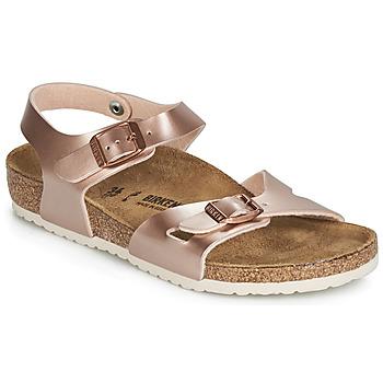 Čevlji  Deklice Sandali & Odprti čevlji Birkenstock RIO Rožnata