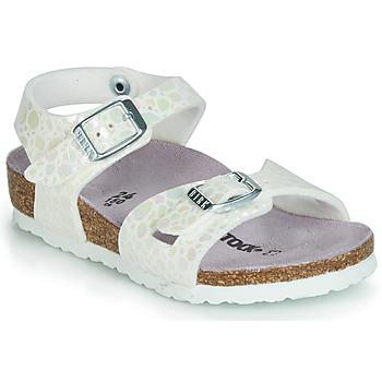 Čevlji  Deklice Sandali & Odprti čevlji Birkenstock RIO Bela