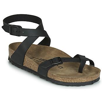Čevlji  Ženske Sandali & Odprti čevlji Birkenstock YARA Črna