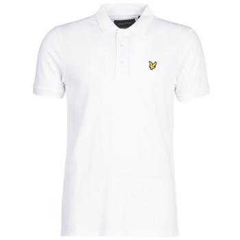 Oblačila Moški Polo majice kratki rokavi Lyle & Scott FAFARLIPE Bela