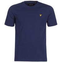 Oblačila Moški Majice s kratkimi rokavi Lyle & Scott FAFARLIBE Modra