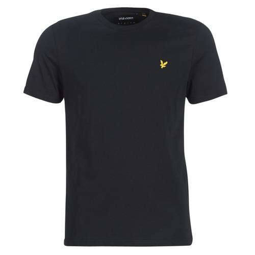 Oblačila Moški Majice s kratkimi rokavi Lyle & Scott FAFARLIBE Črna
