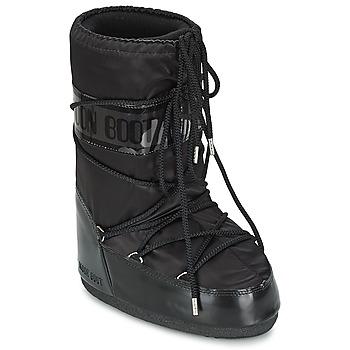 Čevlji  Ženske Škornji za sneg Moon Boot MOON BOOT GLANCE Črna