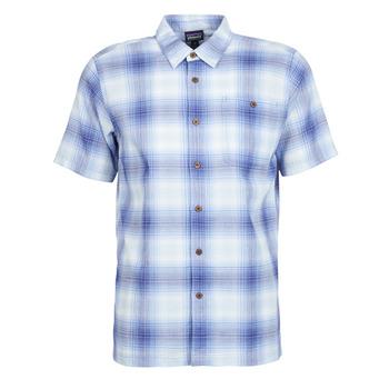 Oblačila Moški Srajce s kratkimi rokavi Patagonia A/C Shirt Modra
