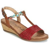 Čevlji  Ženske Sandali & Odprti čevlji Remonte Dorndorf MIJUS Rdeča