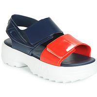 Čevlji  Ženske Sandali & Odprti čevlji Melissa SANDAL + FILA Rdeča / Bela