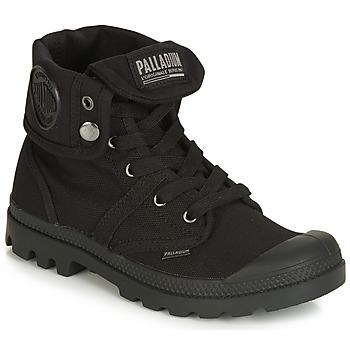 Čevlji  Ženske Polškornji Palladium PALLABROUSE BAGGY Črna
