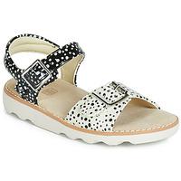 Čevlji  Deklice Sandali & Odprti čevlji Clarks Crown Bloom K Črna