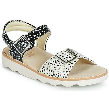 Čevlji  Deklice Sandali & Odprti čevlji Clarks Crown Bloom T Črna