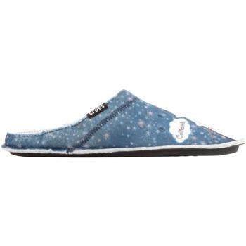 Čevlji  Ženske Nogavice Crocs GRAPHIC SLIPPER 204565-410 blue