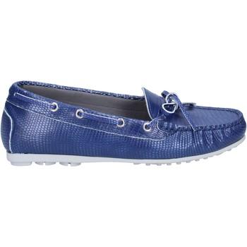 Čevlji  Ženske Mokasini K852 & Son BT933 Modra
