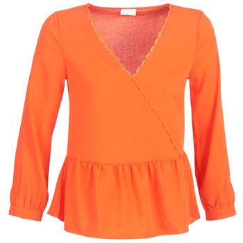 Oblačila Ženske Topi & Bluze Vila VIROSSIE Oranžna