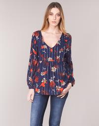 Oblačila Ženske Topi & Bluze Vila VIAMOLLON Modra