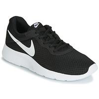 Čevlji  Moški Nizke superge Nike TANJUN Črna / Bela