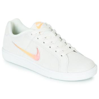 Čevlji  Ženske Nizke superge Nike COURT ROYALE PREMIUM W Bela / Oranžna