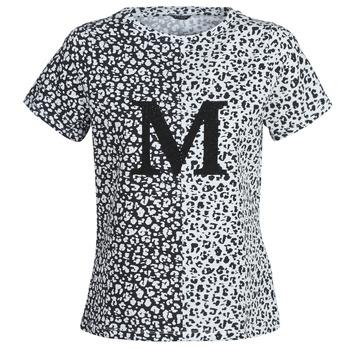 Oblačila Ženske Majice s kratkimi rokavi Marciano RUNNING WILD Črna / Bela