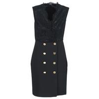 Oblačila Ženske Kratke obleke Marciano JANE Črna