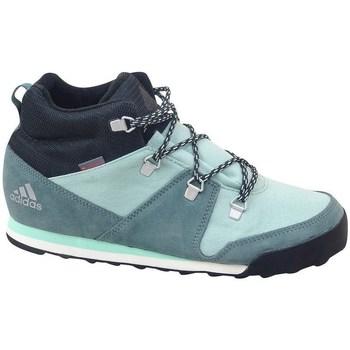 Čevlji  Otroci Visoke superge adidas Originals CW Snowpitch K Zelena