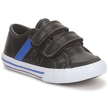 Čevlji  Dečki Nizke superge Le Coq Sportif SAINT MALO Črna / Modra