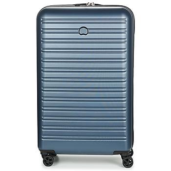 Torbice Trdi kovčki Delsey SEGUR 4DR 78CM Modra