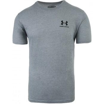 Oblačila Moški Majice s kratkimi rokavi Under Armour Sportstyle Left Chest Siva