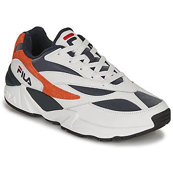 Čevlji  Moški Nizke superge Fila V94M R LOW Bela / Oranžna