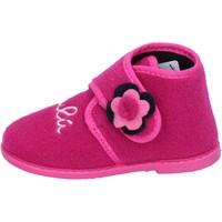 Čevlji  Deklice Nogavice Lulu Copati BS28 Roza