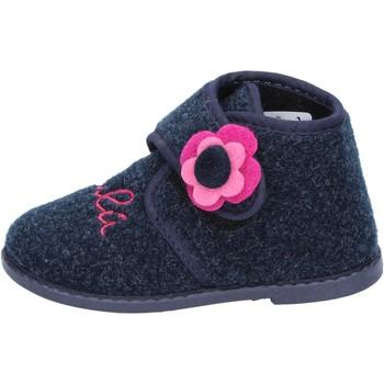 Čevlji  Deklice Nogavice Lulu Copati BS29 Modra