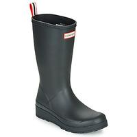 Čevlji  Ženske škornji za dež  Hunter ORIGINAL PLAY BOOT TALL Črna