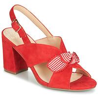 Čevlji  Ženske Sandali & Odprti čevlji Bocage PAULIN Rdeča