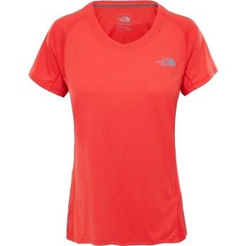Oblačila Ženske Majice s kratkimi rokavi The North Face Tshirt Ambition Oranžna