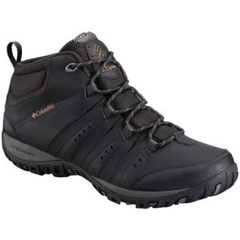 Čevlji  Moški Pohodništvo Columbia Woodburn II Chukka Waterproof Črna