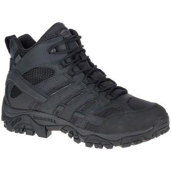 Čevlji  Moški Pohodništvo Merrell Moab 2 Mid Tactical Waterproof Črna