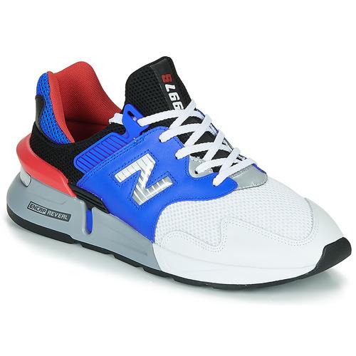 Čevlji  Moški Nizke superge New Balance 997 Bela / Modra