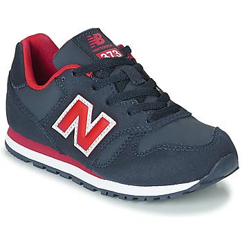 Čevlji  Otroci Nizke superge New Balance 373 Modra / Rdeča