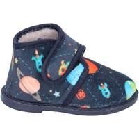 Čevlji  Dečki Nogavice Blaike pantofole blu tessuto BS50 Blu