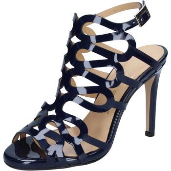 Čevlji  Ženske Sandali & Odprti čevlji Olga Rubini sandali blu vernice BS91 Blu