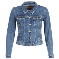 Oblačila Ženske Jeans jakne Only ONLTIA Modra