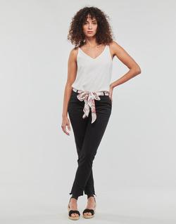 Oblačila Ženske Hlače s 5 žepi Betty London MIRABINE Črna