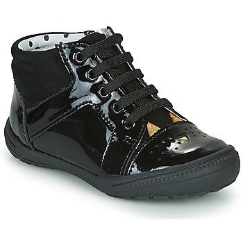 Čevlji  Deklice Visoke superge Catimini CIBELLE Črna