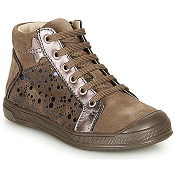 Čevlji  Deklice Visoke superge GBB ORENGETTE Taupe