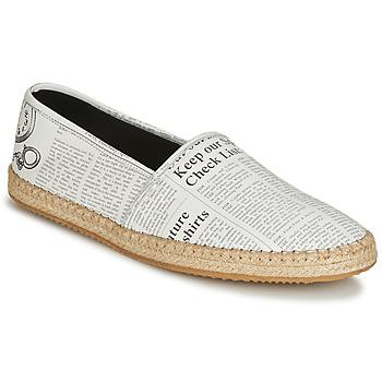 Čevlji  Moški Espadrile John Galliano 6715 Bela