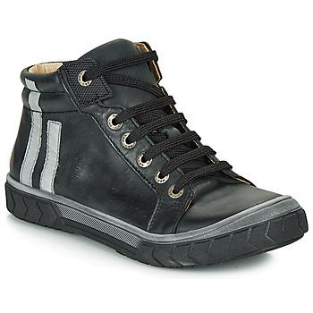 Čevlji  Dečki Visoke superge GBB OSKOF Črna