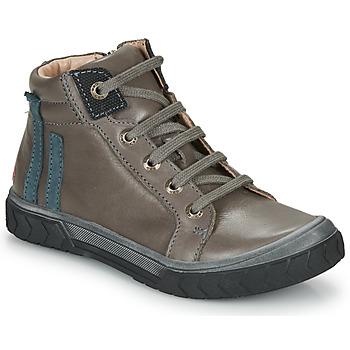 Čevlji  Dečki Visoke superge GBB OSKOF Siva