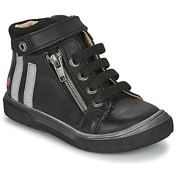 Čevlji  Dečki Visoke superge GBB OMAHO Črna