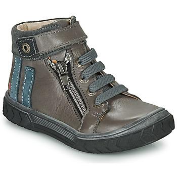 Čevlji  Dečki Visoke superge GBB OMAHO Siva