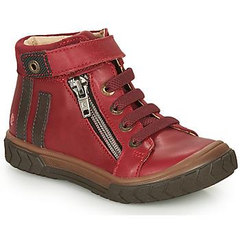 Čevlji  Dečki Visoke superge GBB OMAHO Rdeča