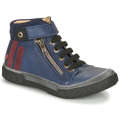 Čevlji  Dečki Visoke superge GBB OMAHO Modra